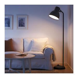 New Ikea Floor Lamp Hektar Dark Grey Oversized Height 181 Cm Home Office Ebay