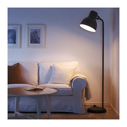 NEW IKEA FLOOR LAMP HEKTAR DARK GREY OVERSIZED HEIGHT 181 cm HOME / OFFICE