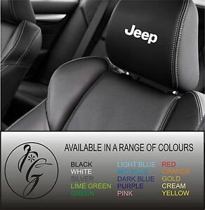 5-jeep-car-seat-head-rest-decal-sticker-vinyl-graphic-logo-badge-free-post