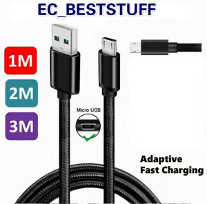 3-6-10Ft-Micro-USB-3-0-Fast-Charger-Data-Sync-Cable-Cord-Samsung-Android-HTC-LG