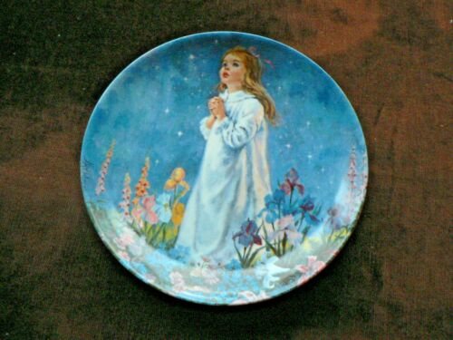 Bradex Reco Collector Plate Twinkle Twinkle Little Star, Mother Goose Series