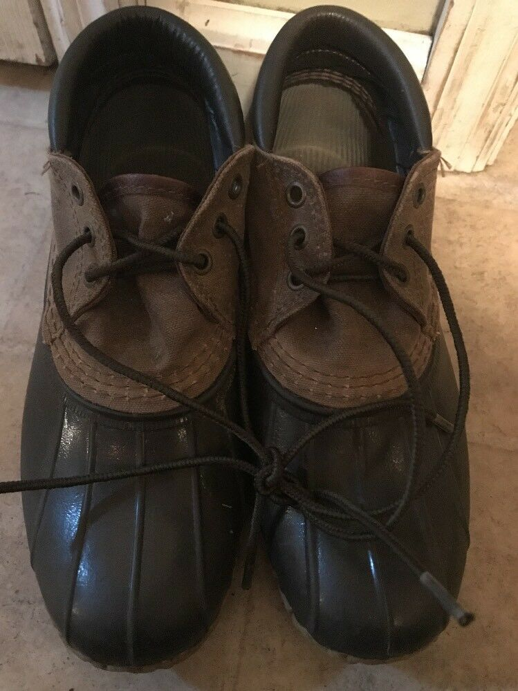 LL Bean  scarpe Low Duck stivali Marronee donna Dimensione 8 Vintage  saldi