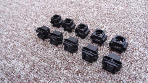 10 x Motor eingine passage de roue protection clips fixation PORSCHE