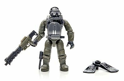 FIGURE # 2 FROM Mega Bloks Call of Duty SEAL Sub Recon Building Set CNG80