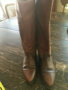 WOMEN-039-S-KNEE-HIGH-BROWN-BOOTS-SIZE-7