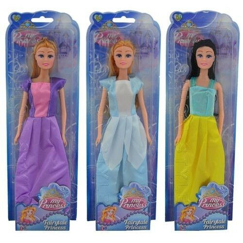 Girls My Fairy-tale Princess Dolls Fashionista Cinderella Cinderella Cinderella Rapunzel Snow White e02179