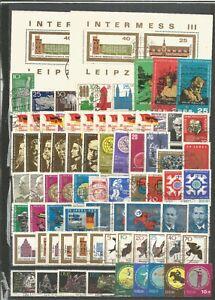 DDR-1965-gestempelt-kompletter-Jahrgang-mit-allen-Einzelmarken