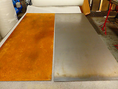 Corten Steel Sheet Natural Finish 500mm X 500mm X 1 0mm Thick Ebay