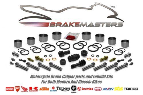 Kawasaki ZZR 1100 D front brake caliper pistons seal rebuild kit 1993 1994 1995
