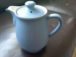 Denby Echo Blue Teapot Hotwater Pot