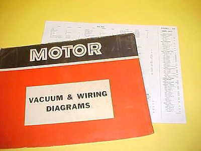 1965 1966 1967 1968 1969 Dodge Charger Coronet Super Bee Vacuum Wiring Diagrams Ebay
