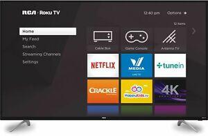 "RCA 60"" 4K Ultra HD (2160P) HDR Roku Smart LED TV"