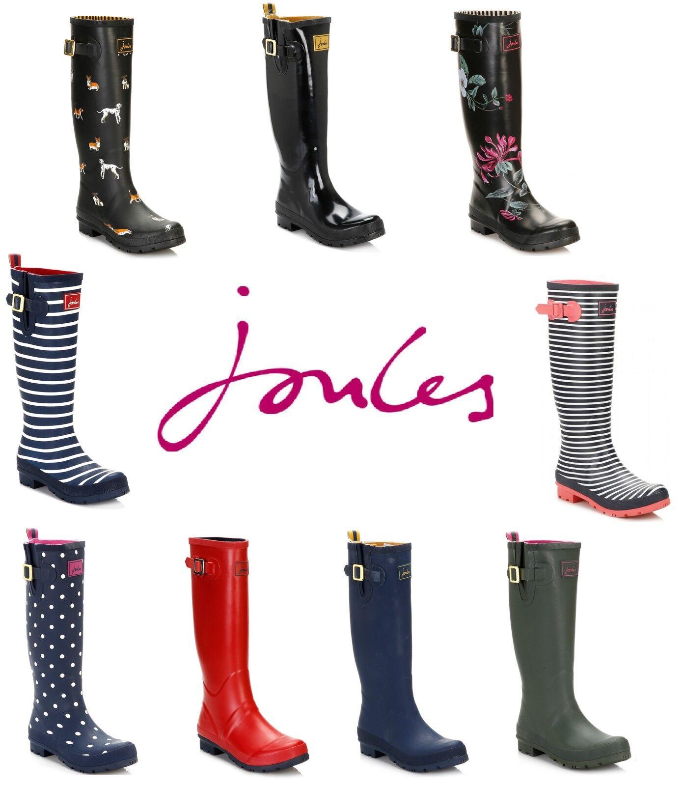Joules bottes wellies wellington bottes en caoutchouc chaussures-diverses couleurs & tailles