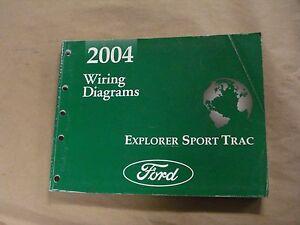 2004 Ford Explorer Sport Trac Workshop Service Manual ...