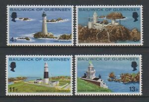 Guernesey-1976-Lighthouses-Ensemble-MNH-Sg-135-8