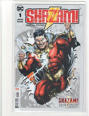 WONDERCON 2019 DC SHAZAM SPECIAL EDITION COMIC BOOK #1