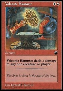 2x-Martello-Vulcanico-Volcanic-Hammer-MTG-MAGIC-PO2-Portal-Second-Age-Eng-Ita