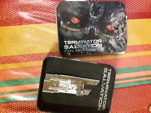 Kenntnisreich Terminator Salvation Lighter Hollywood Collectibles Volumen Groß Aufsteller & Figuren