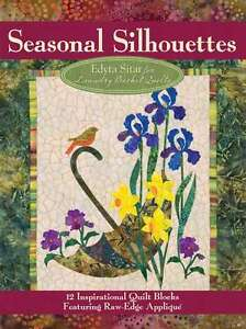 SEASONAL SILHOUETTES APPLIQUE QUILT PATTERN, From Laundry Basket Quilts