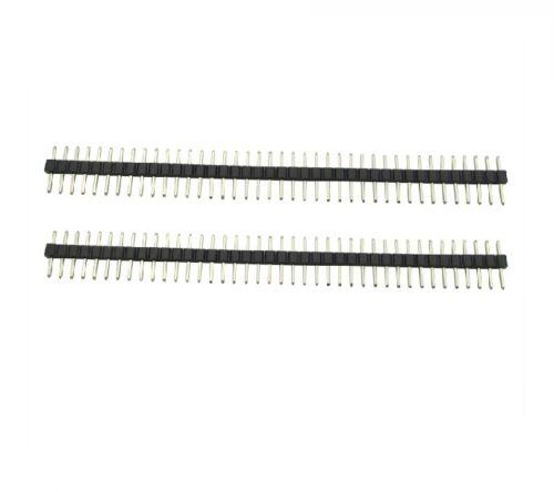 20PCS 2.54mm 40 Pin Male Single Row Pin Header Strip NEW
