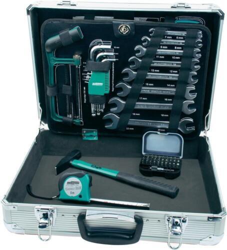 Mannesmann m29075 Aluminium Boîte à outils 108-tlg outil 29075 jeu d'outils