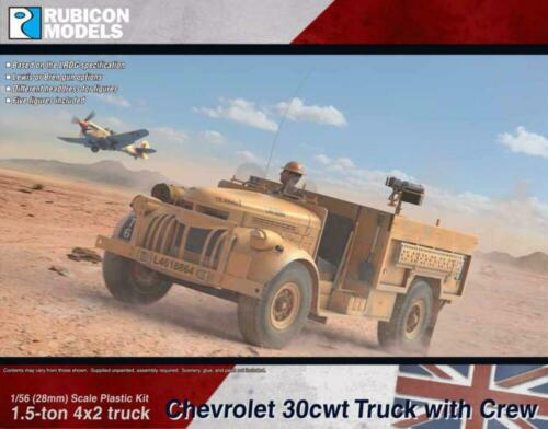 CHEVROLET WB 30cwt TRUCK-British /& Commonwealth Rubicon 280075