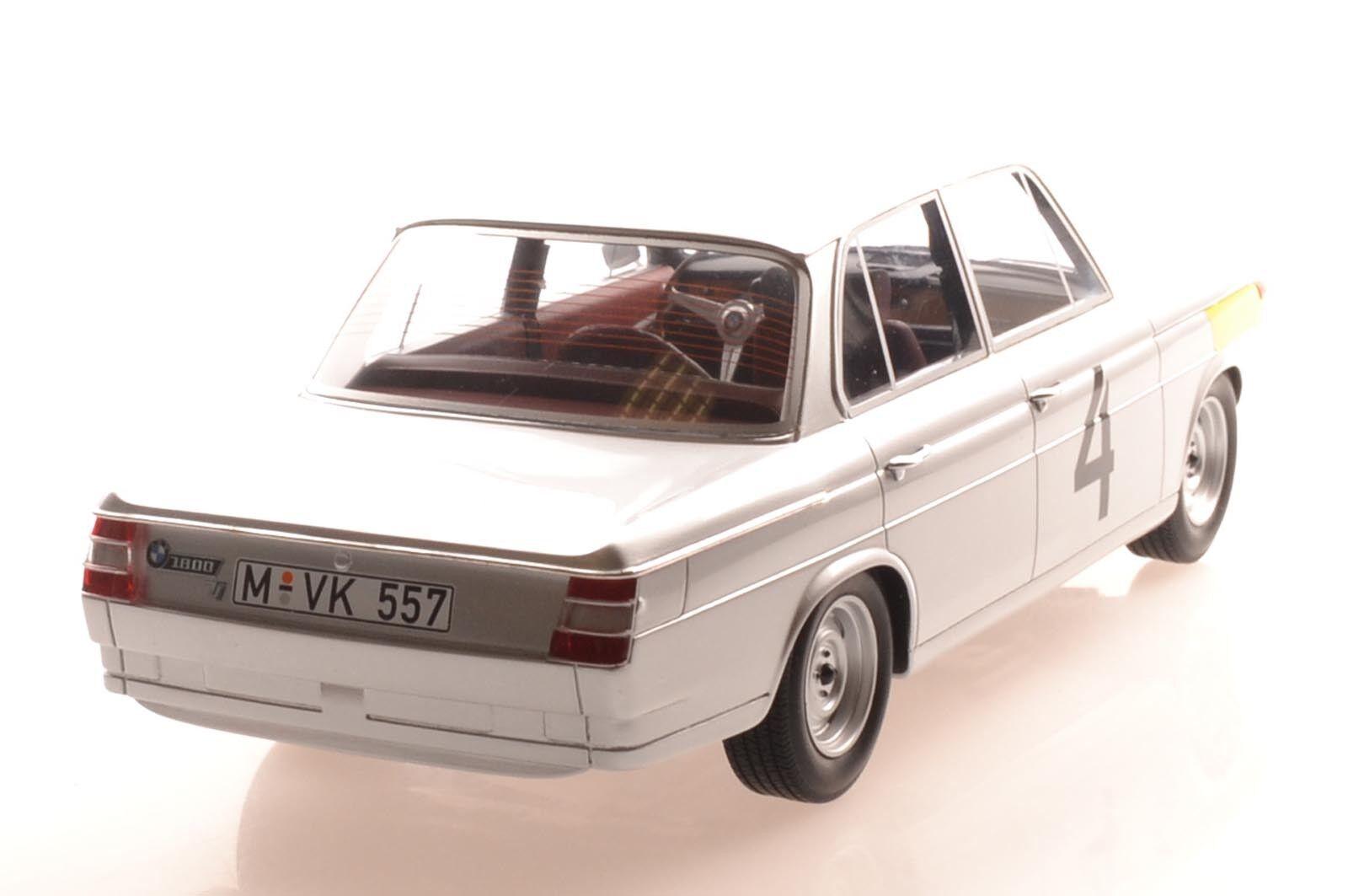 MINICHAMPS 107652504 BMW 1800 1800 1800 TISA ICKS/Van Ophem 24 H Spa 1965 1:18 Nouveau/Neuf dans sa boîte   D'adopter La Technologie De Pointe  4ae534