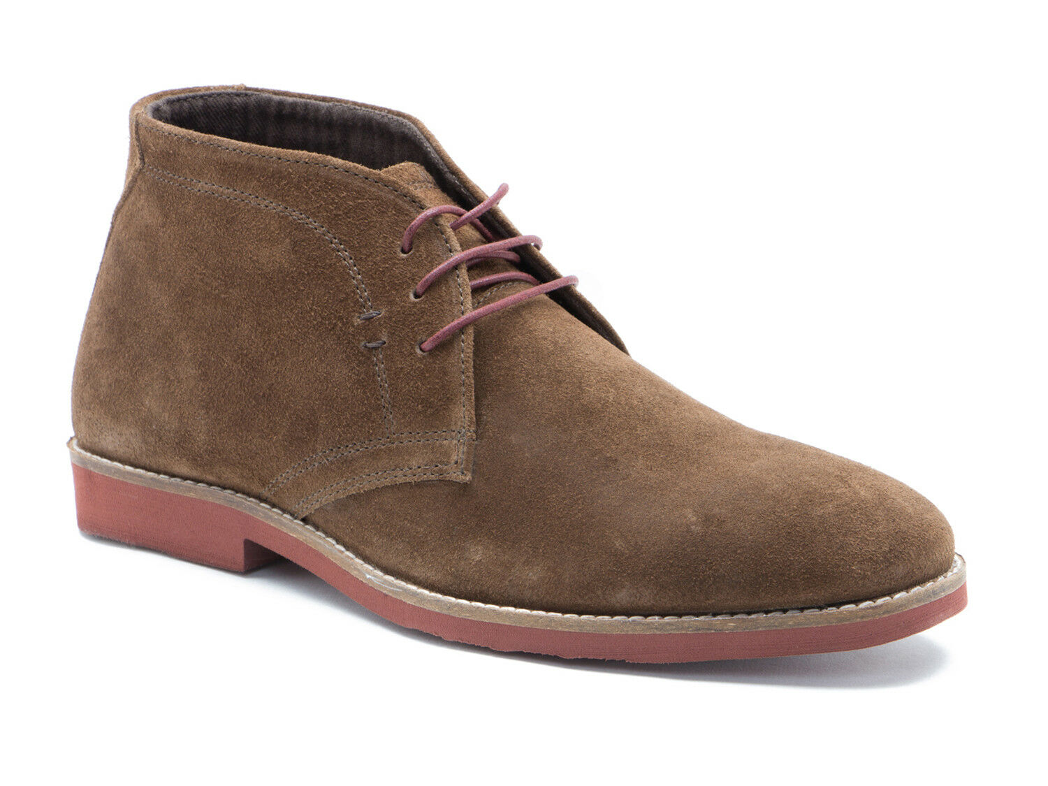 Red Tape Dorney Brown Suede Mens Casual Desert Boots Free UK P&P RRP