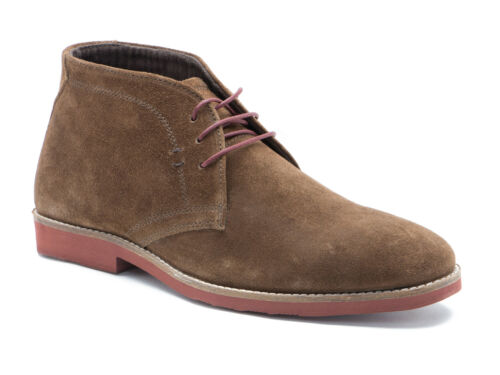 Boots Rrp amp;p Dorney Casual Desert Tape Uk Brown Mens P Suede Free £55 Red A64w0xq7T