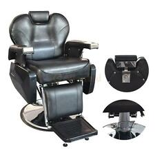 Hydraulic Adjustable Barber Chair Salon Beauty Spa Shampoo Hair Styling Black