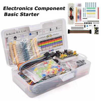 Electronics Component Starter Kit W// 830 tie-points Breadboard Resistor T8W0