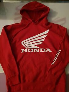 sweat honda rouge adidas