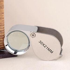 30x-Juwelier-Schmuck-Vergroesserungs-glas-Reparatur-Uhrmacher-Lupe-DED-D6J3