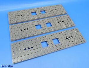 Baukästen & Konstruktion LEGO Bau- & Konstruktionsspielzeug LEGO® Eisenbahn Waggon Platte 6x24 in neu-dunkel-grau 6077826 92088 für 60051