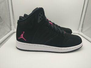 1e48ae7458ee Nike Air Jordan 1 Flight 4 Premium GG UK 6 Black Vivid Pink White ...
