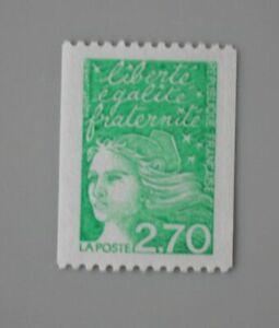 france-3100-roulette-sans-numero-rouge-neuf-luxe-marianne-de-Luquet
