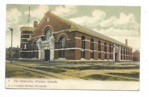 WINDSOR-ONTARIO-The-Armouries-Circa-1907