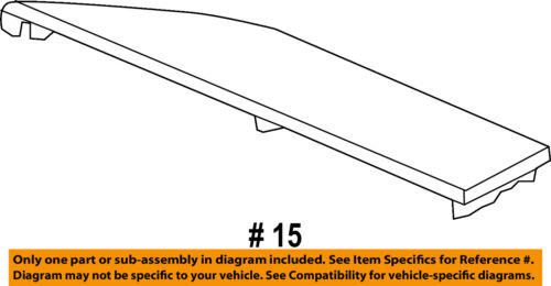 HONDA OEM 13-16 Accord Instrument Panel Dash-Lid Trim 77209T2FA01ZA