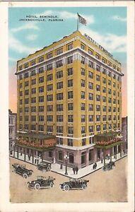 Jacksonville-FLORIDA-Hotel-Seminole-ARCHITECTURE-1935-old-cars