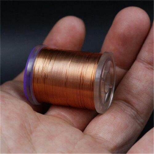 10 Colors BRASSIE ULTRA Wire Fly Tying Metal wire 0.2mm /&0.3mm Copper Wire