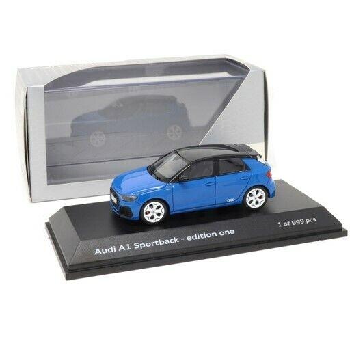 AUDI A1 Sportback, Turbo azul, Coche Modelo - 1 43