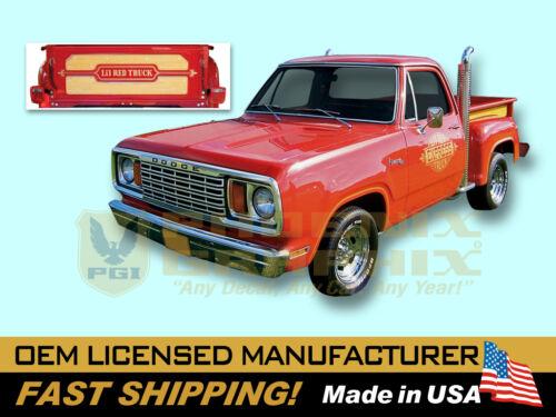 1978 1979 Dodge Li/'l Lil Little Red Express Truck Decals /& Stripes Kit