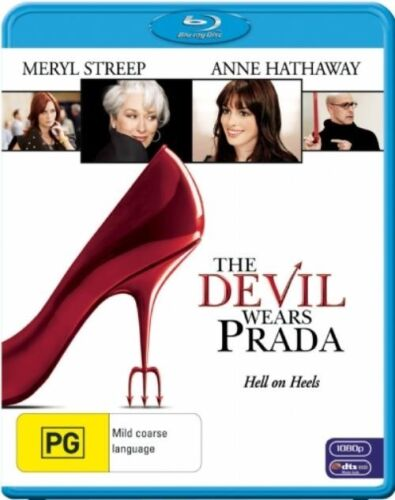 1 of 1 - The Devil Wears Prada - Blu-ray - NEW+SEALED - fast free post