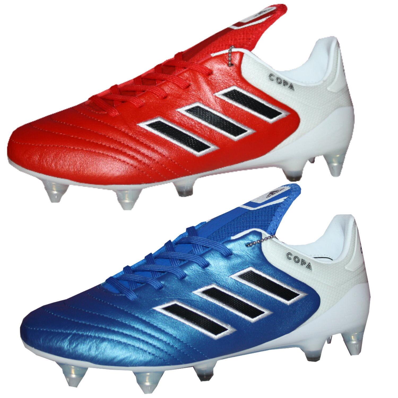 Adidas Performance Copa 17.1 SG Fußballschuhe Stollen red blue Leder SALE