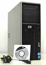 WIN 7 PRO 64BIT 24GB RAM QUAD CORE 3.06GHZ 1TB HP Z400 DVDRW FAST WORKSTATION PC