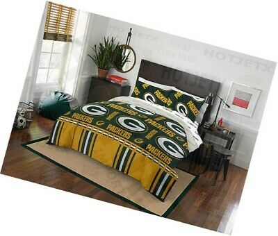 Green Bay Packers Bedding Set Queen Nfl, Green Bay Bedding Queen