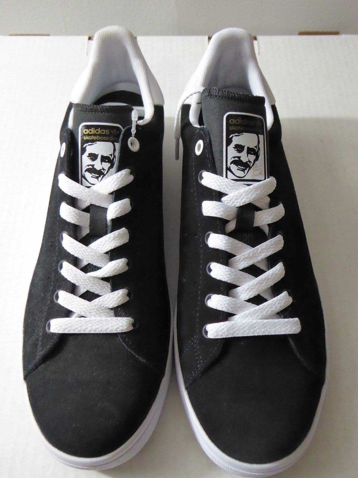 low priced b41b2 98390 adidas Stan Smith Vulc Skateboarding Black White Bb8743 Size 8 for ...