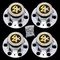 Chevy Gmc 4x2 6 Lug 15x8 15 Truck Rally Wheel Center Hub Caps Bolt On Hubs 2wd