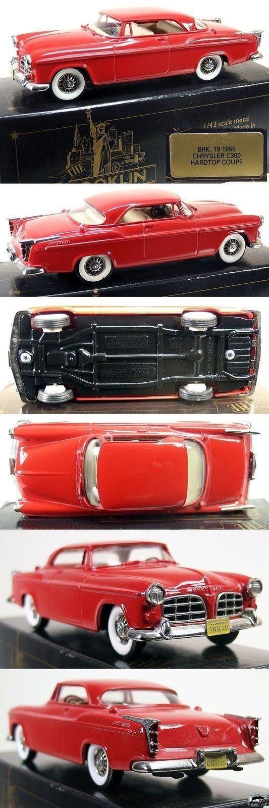 AT324   Brooklin 1 43 BRK 19 - 1955 Chrysler C300 Hardtop Coupe NEU