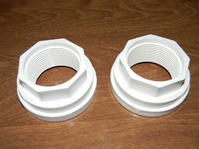 """Lot of 2 Waterway 417-4161 Union Tailpiece Adapter 1.5/"""" Buttress X 1.5/"""" MPT"""
